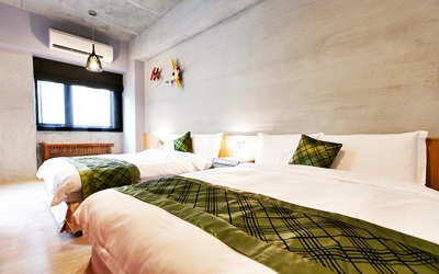 民宿卧室装修风格图